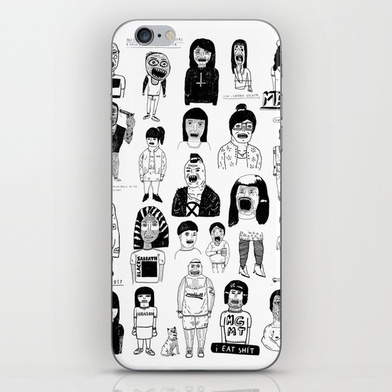 PEEPZ iPhone & iPod Skin
