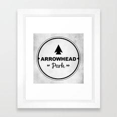 Arrowhead Park Framed Art Print