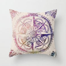 Voyager II Throw Pillow