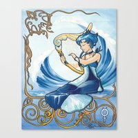 Princess Mercury Canvas Print