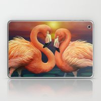 Flamingo Love Laptop & iPad Skin