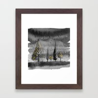 Lit Up Framed Art Print