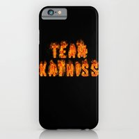 iPhone & iPod Case featuring Team Katniss by pirateprincess