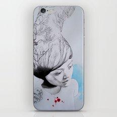 Hidden trees iPhone & iPod Skin
