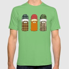 Trio Mens Fitted Tee Grass SMALL