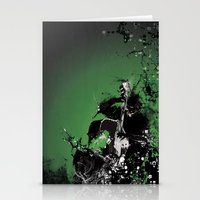 GREEN BASS Stationery Cards