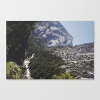 yosemite nature Canvas Print
