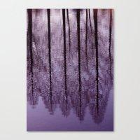 Water Trees - JUSTART © Canvas Print