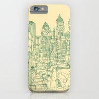 London! Cream iPhone 6 Slim Case