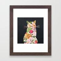 Tropicat Framed Art Print