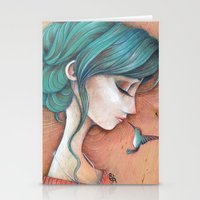 infinity Stationery Cards featuring Infinity by Alessandra Fusi