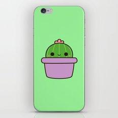 Cute Cactus In Purple Po… iPhone & iPod Skin