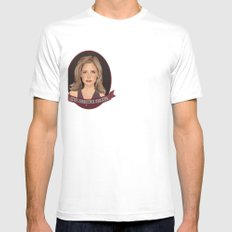 Buffy Summers - Once More with Feeling SMALL White Mens Fitted Tee