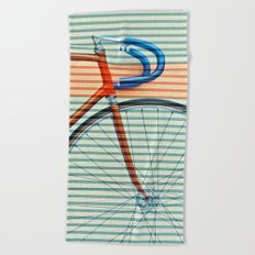 Standard Striped Bike Beach Towel