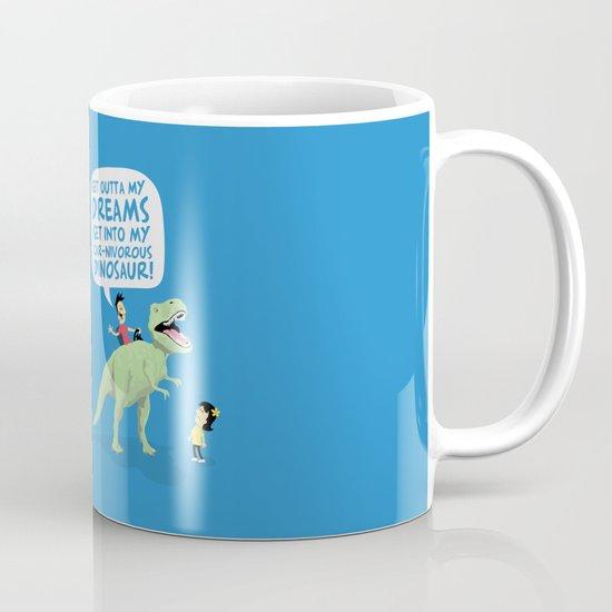 my car-nivorous dinosaur Mug