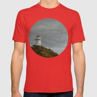 The Light Mens Fitted Tee Red SMALL