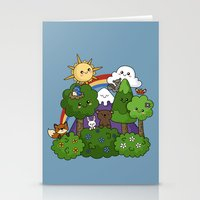 Wilderness Cuteness Stationery Cards