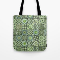 Green Valley Quilt Tote Bag