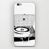 Record Player iPhone & iPod Skin