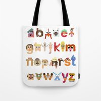 The Great Muppet Alphabe… Tote Bag