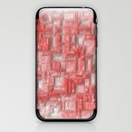 Peppy Crystals Red iPhone & iPod Skin