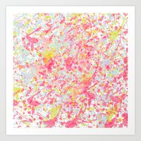 Explosion Of Blossoms Art Print