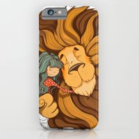 iPhone & iPod Case featuring Lion by Tatiana Obukhovich