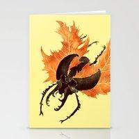 Autumn Burst Stationery Cards