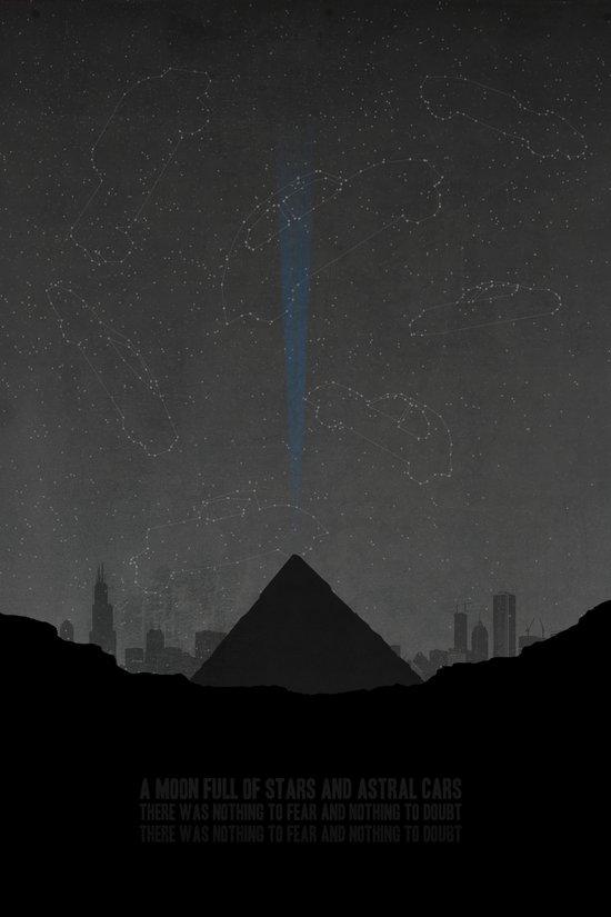 Pyramid Song Canvas Print