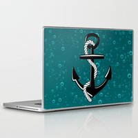 anchor Laptop & iPad Skins featuring Anchor by Urlaub Photography