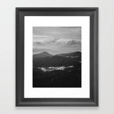 a dark earth Framed Art Print