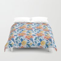 The Lost World Birds Duvet Cover
