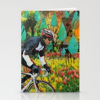 Through the Tulips Stationery Cards