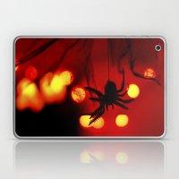 halloween spider Laptop & iPad Skin