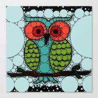 Curiosity Never Killed an Owl Canvas Print