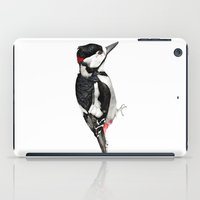 Great Spotted Woodpecker iPad Case