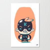 Kaptain 14 Canvas Print