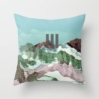 another abstract dream 3 Throw Pillow