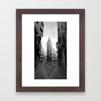 Tuesday 6 March 2012: Co… Framed Art Print