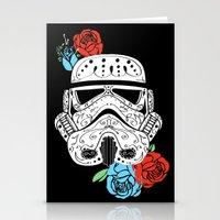 Storm Trooper Dia De Los Muertos Stationery Cards
