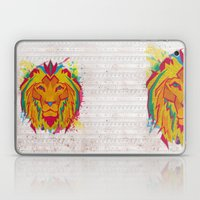 Cat Series: Lion Laptop & iPad Skin