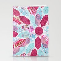 Patchwork-Collage Love Stationery Cards