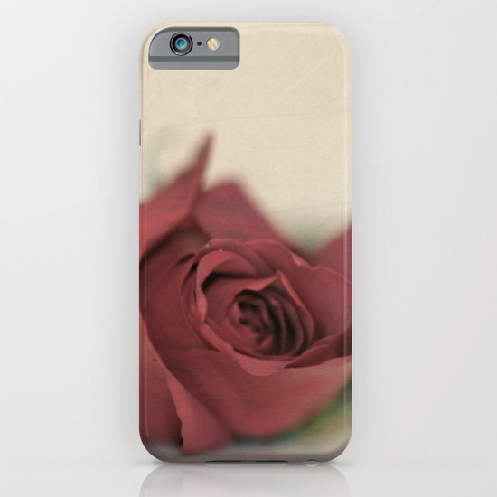 Single Rose fine art photography iPhone & iPod Case