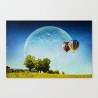 Dreamland Explorers Canvas Print