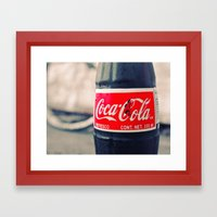 Simple and classic Framed Art Print