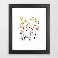 Jazzy Melody Framed Art Print