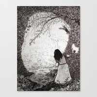 Wendy in Neverland Canvas Print