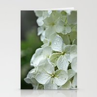 Stationery Card featuring Pretty Flowers by Becky Dix