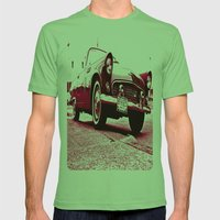 '56 T-Bird Mens Fitted Tee Grass SMALL