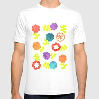 Daisy Dallop II Mens Fitted Tee White SMALL